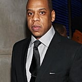 Jay-Z put on a suit and tie for the 40/40 Club reopening.