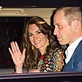 Kate Middleton's Tory Burch Dress in Bhutan April 2016