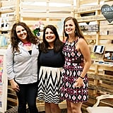 One of the design challenge contestant groups, Katie Rebecca Events, stood in front of their display. Photo by Ettevy Photography