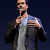 Josh Duhamel spoke before his Scenic Route screening at SXSW.