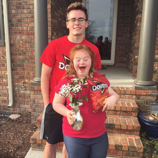 Cheesy Doritos Promposal For Girl With Down Syndrome