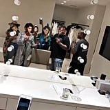 Cardi B Hangs Out With Kim Kardashian and Kris Jenner