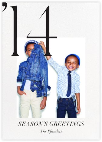 "J.Crew For Paperless Post ""From Our Family to Yours"" Holiday Cards"