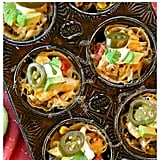 Loaded Chicken Taco Cups
