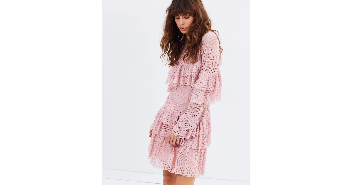 20b87db1441 We Love: Talulah Valencia Rose Long Sleeve Mini Dress, $350 | Spring ...