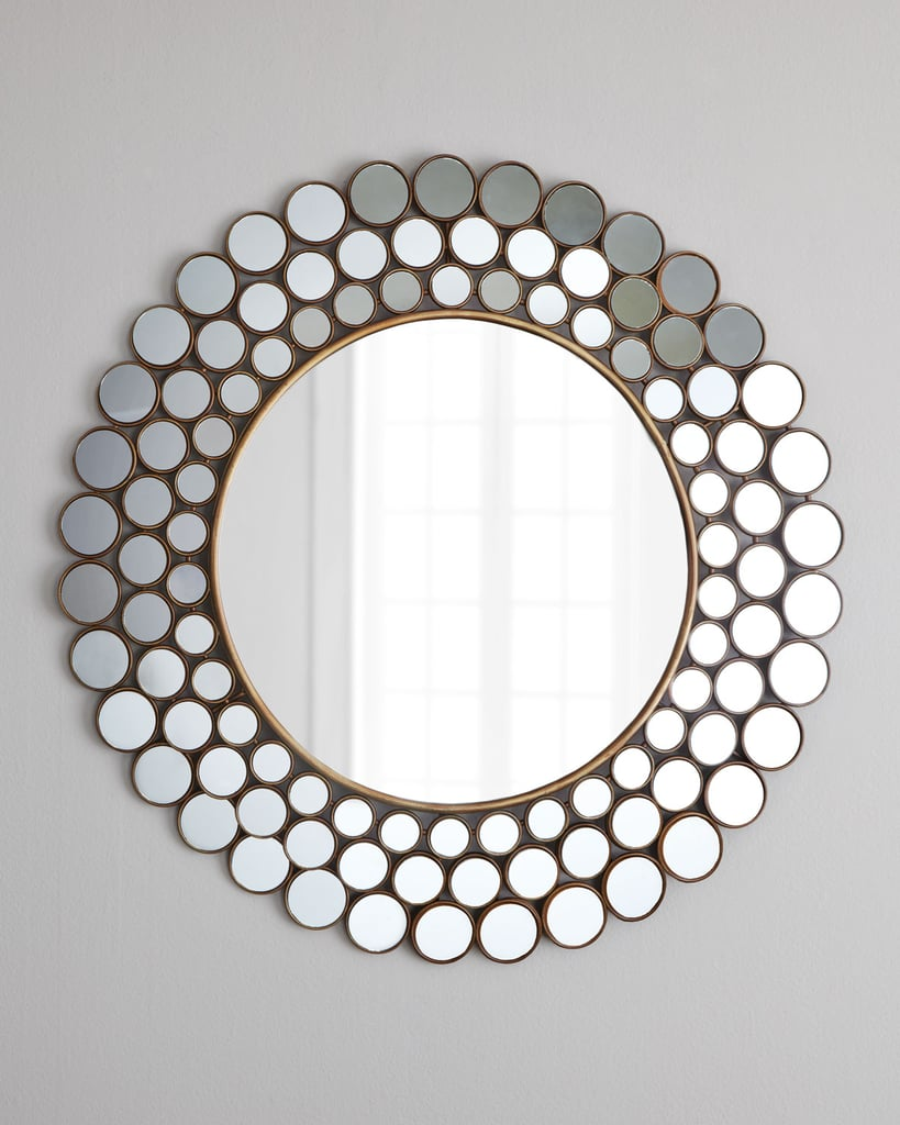 """I may be slightly vain, but I love me a good mirror, and I know a few people who are on the same page. The """"Mirrored Circles"""" Accent Mirror ($150) is both gorgeous and functional for a bedroom or entryway.  —Maggie Pehanick, assistant editor"""