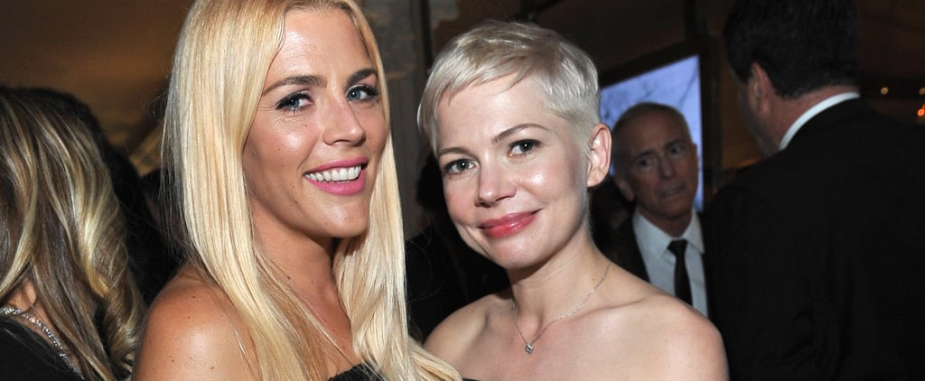 Michelle Williams Parties With BFF Busy Philipps and #MeToo Founder Tarana Burke After the Globes