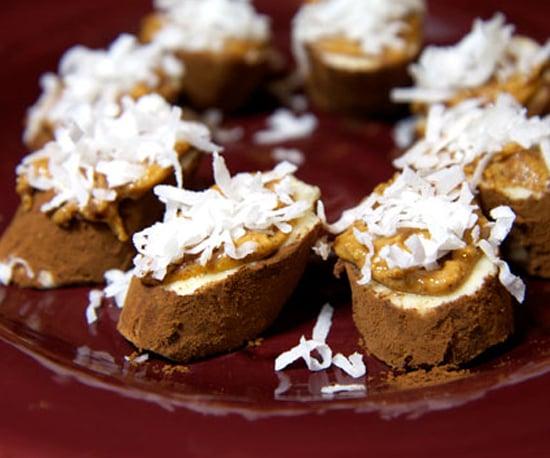 Almond Crusted Chocolate Bananas