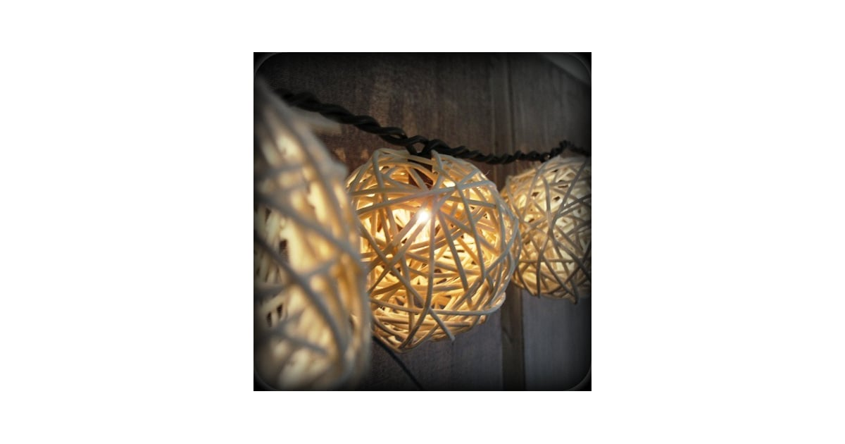 Rattan Ball Lights DIY Wedding and Ceremony Decor Pictures POPSUGAR Home Photo 34