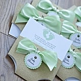 Mint Green Baby Shower Invitation