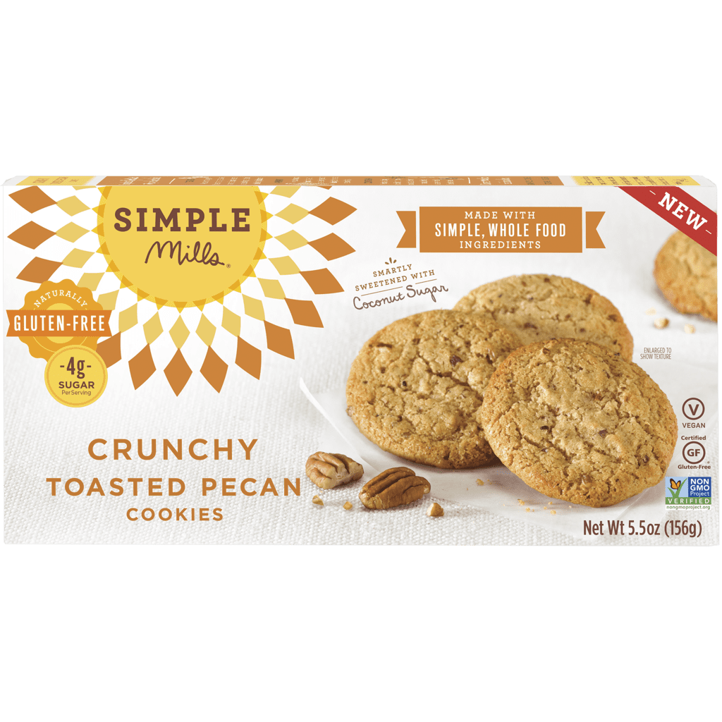Simple Mills Crunchy Toasted Pecan Cookies