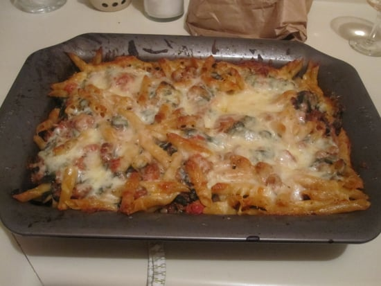 Baked Penne With Sausage and Chard Recipe 2011-02-04 15:10:36
