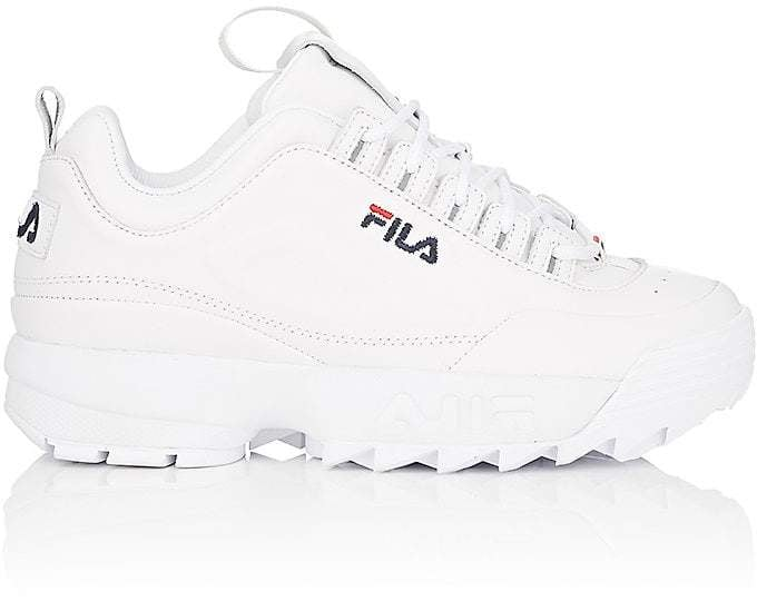 Lux Fila Shoe Leather Spring Trends Disruptor 2018 2 Sneakers ERwFHRq