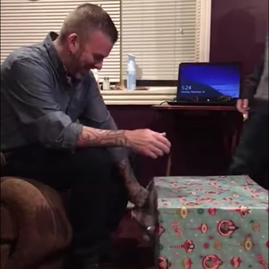 Boy Gives His Dad a PS4 For Christmas