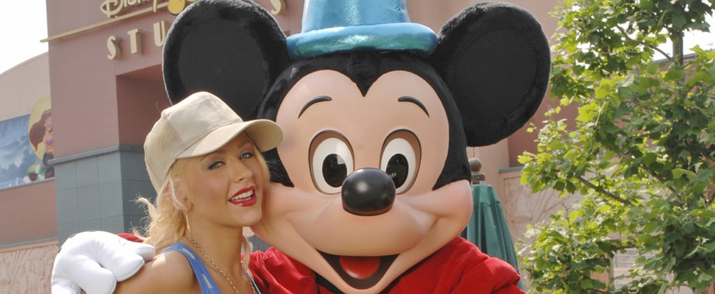 Celebrities at Disney Parks