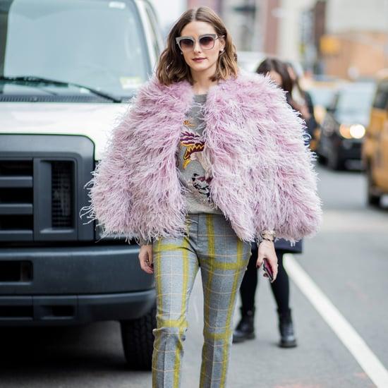 Olivia Palermo Outfits at Fashion Week Fall 2018