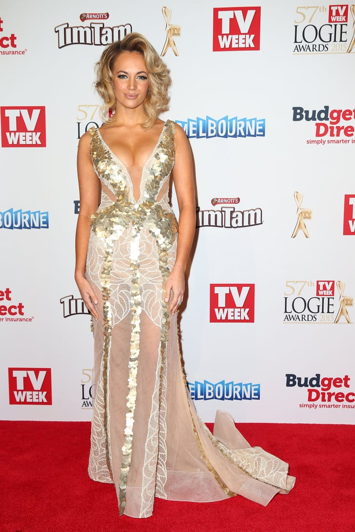 Samantha Jade Tv Week Logies Awards Red Carpet Style