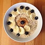 There's no need to add sugar to your oats when you have the natural sweetness of bananas and blueberries. The added flaxseed also gives the dish a healthy dose of omega-3s.