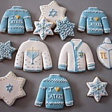 Ugly Sweater Hanukkah Cookies