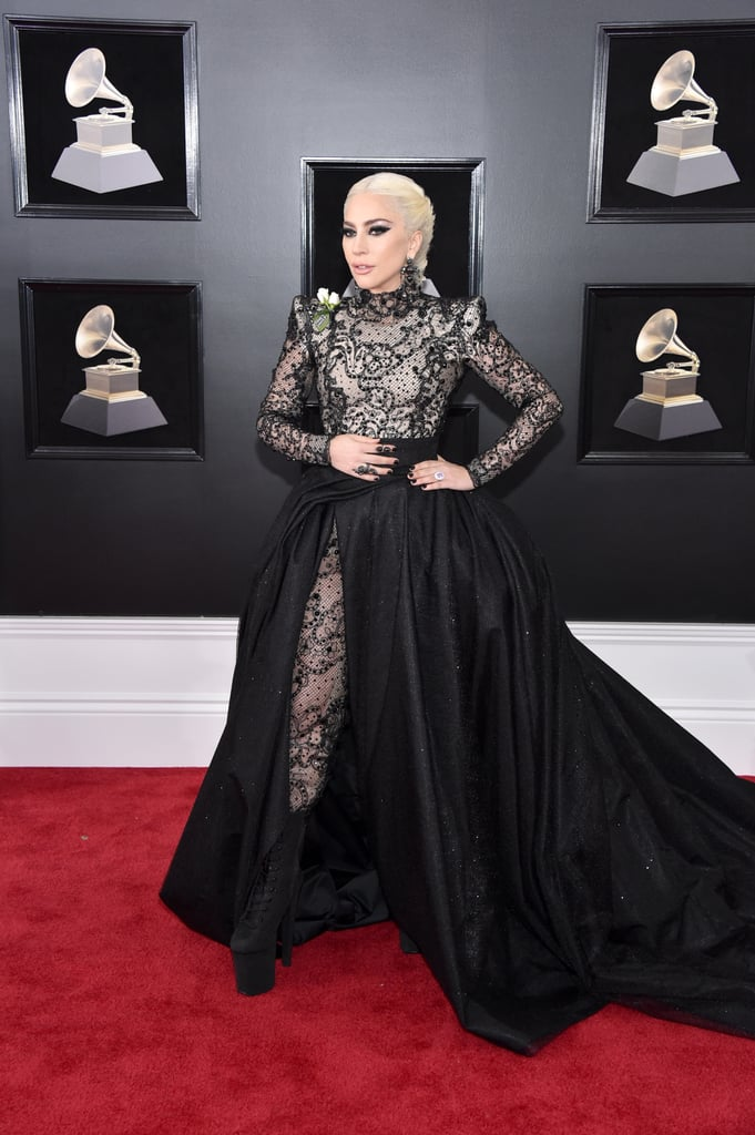 a07f71b1c03 Was Gaga s Armani Privé Grammys look sexy  You bet it was. Later in the