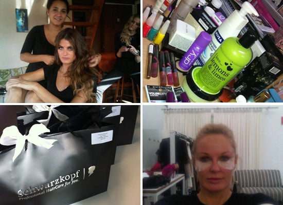 Celebrity Beauty Twitter Pictures from Isabeli Fontana, Charlotte Dawson, Kate Waterhouse, Daphne Guiness