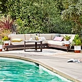 Portside Outdoor Low 3-Piece Sectional