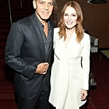George Clooney and Julianne Moore
