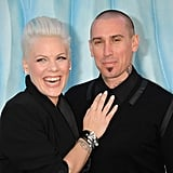 Pink and Carey Hart were so happy together at the LA premiere of Happy Feet Two.