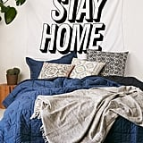 Stay Home Tapestry ($39)