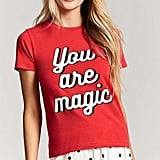 Forever 21 You Are Magic Graphic Pajama Set