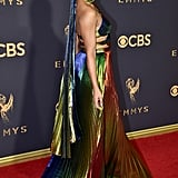 Tessa brought her A-game to the 69th annual Emmys in September 2017.