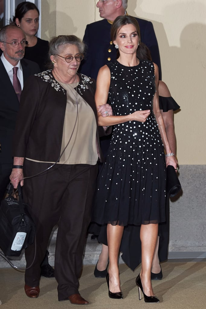 The Sequins on Queen Letizia's $5,990 Dress Make It Hard to Look Away