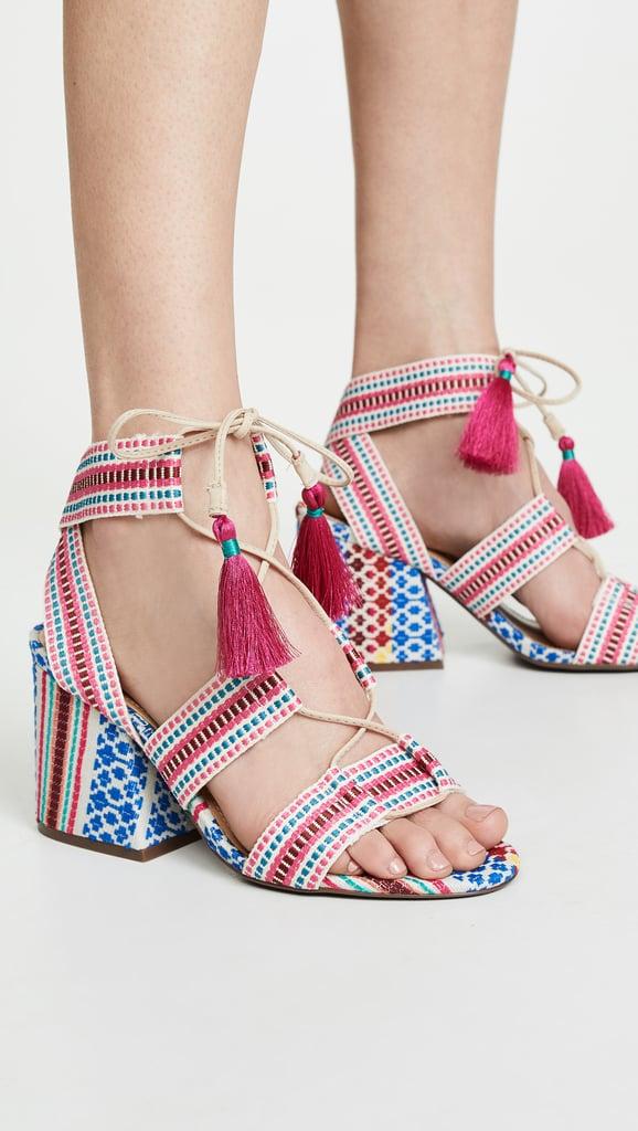Schutz Emilen Block Heel Sandals