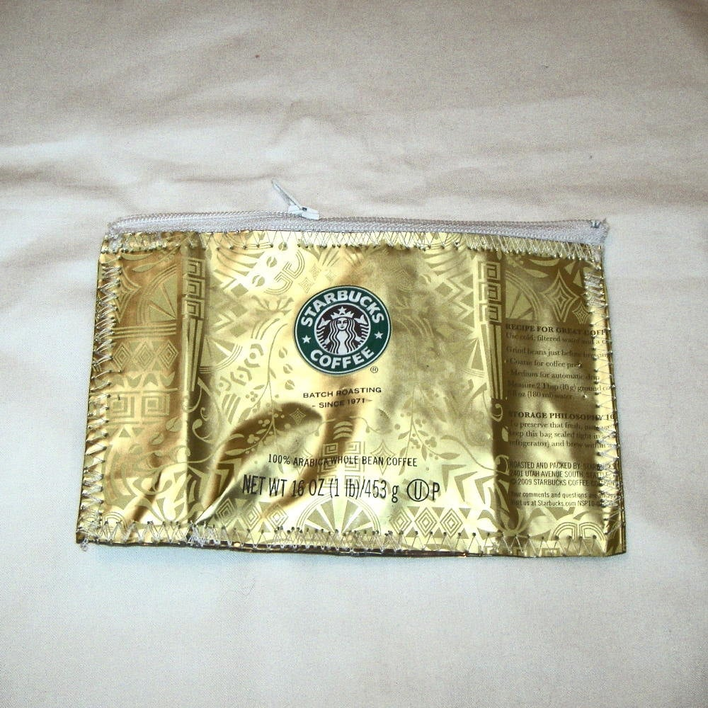 Recycled Starbucks Wallet
