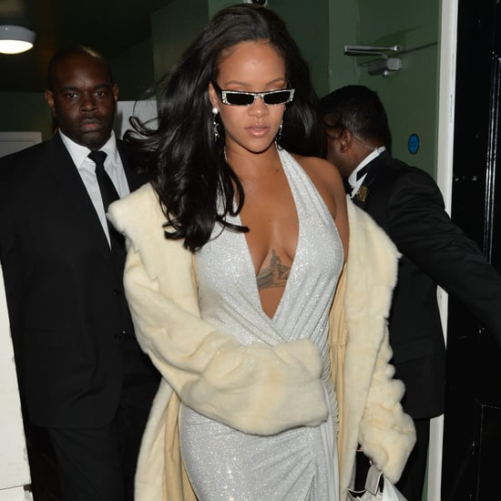 Rihanna's New Year's Eve Dress 2018