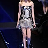 Versace's armor was at its toughest on the Fall 2010 runway.