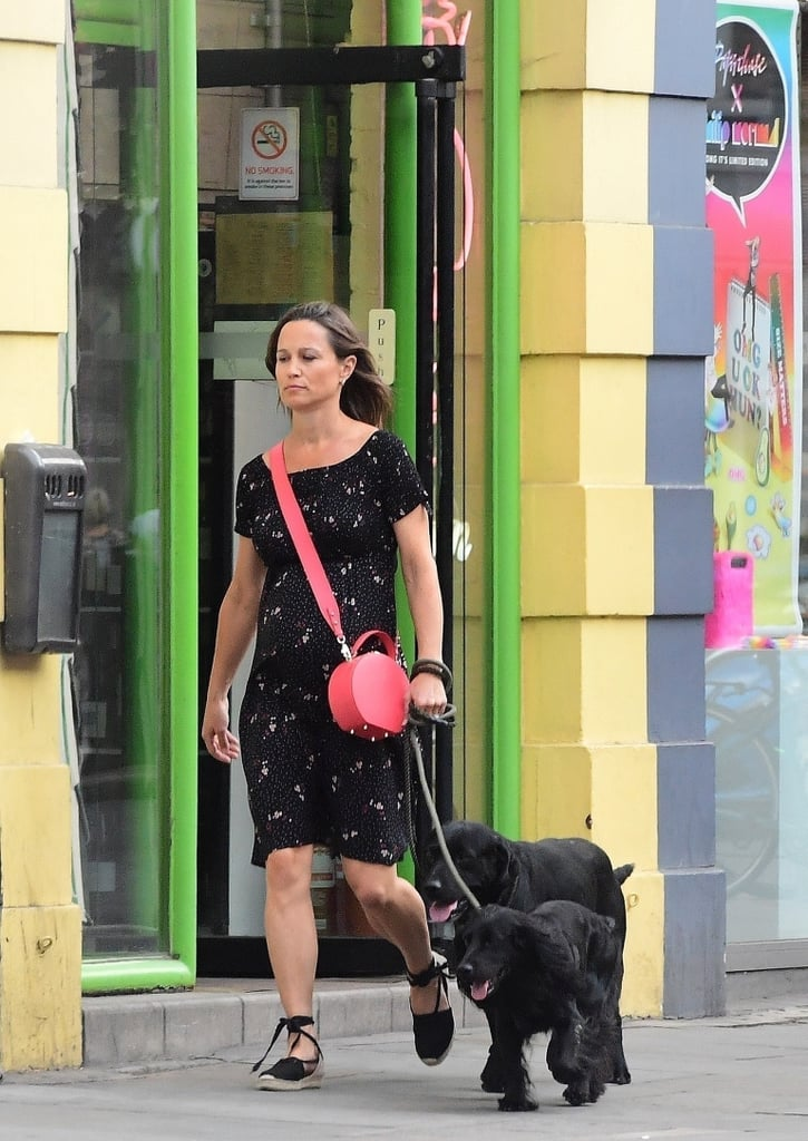Pippa Middleton Red Bag July 2018