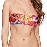 Moschino Ballon Bandeau Floral Bikini Set