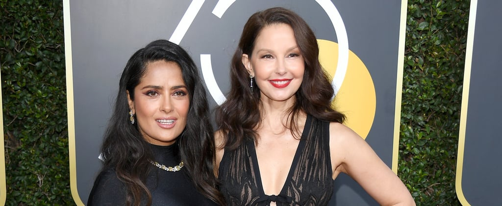 Salma Hayek and Ashley Judd Reunite on the Red Carpet 15 Years After Frida Came Out