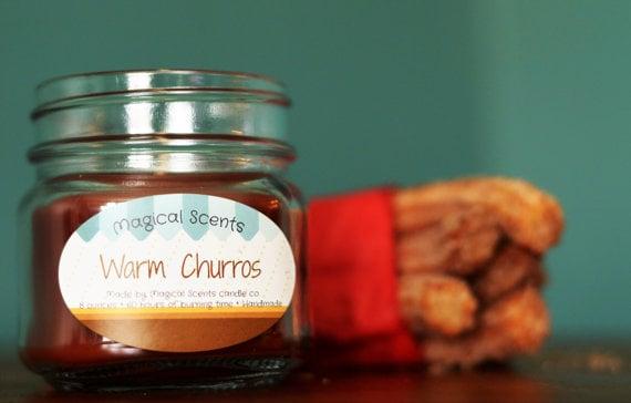 Warm Churros Candle