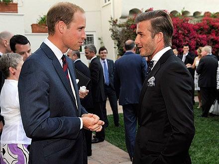 David Beckham Gets Royal Access to Prince William