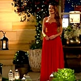 """Watching the promo for The Bachelorette: """"Oh is she coming back! Oh geez. Ah well, she's going to be the princess. That's good. She's an attractive young lady though, why does she need to go on the show?"""" — Mark, Alex's dad """"So instead of roses, what does she give? No, it can't be roses! It's going to be beer. One bottle of beer."""" — Jimmy, Jess' dad"""