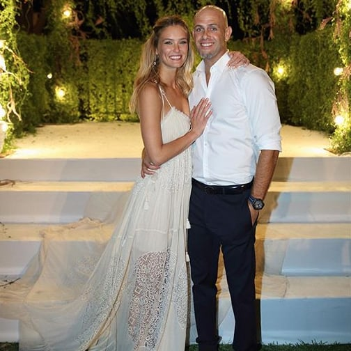 Bar Refaeli Wedding Photo