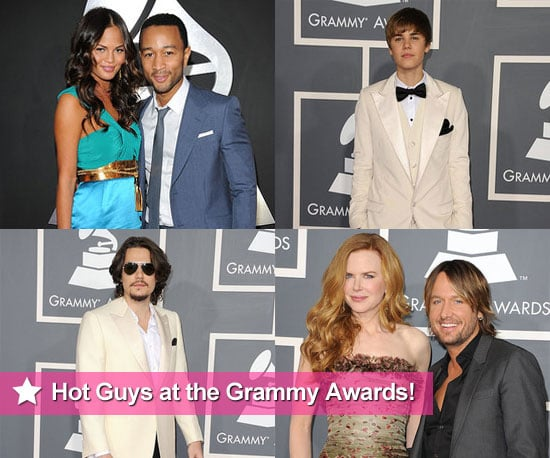 John Mayer, Justin Bieber, John Legend, Keith Urban and More Men at the 2011 Grammy Awards!