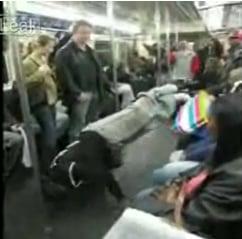 Subway Break Dancing