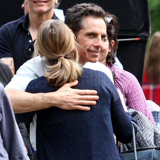 Ben Stiller and Kristen Wiig on Set in NYC