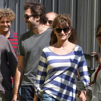 Penelope Cruz Pictures and Javier Bardem on Bop Decameron Set