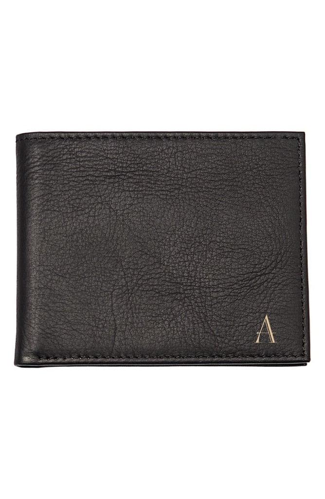 Cathy's Concepts Monogram Bifold Wallet ($54)