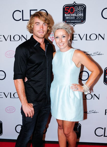 Hayden Quinn and Gemma Crisp