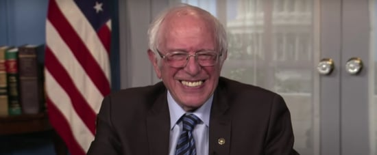Bernie Sanders Reacts to Inauguration Day Memes | Video